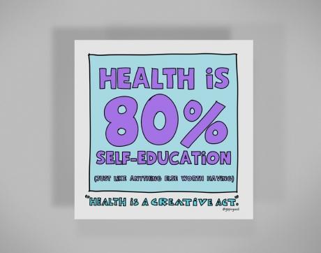 healthy-behaviors-print-80-percent-self-education.jpg