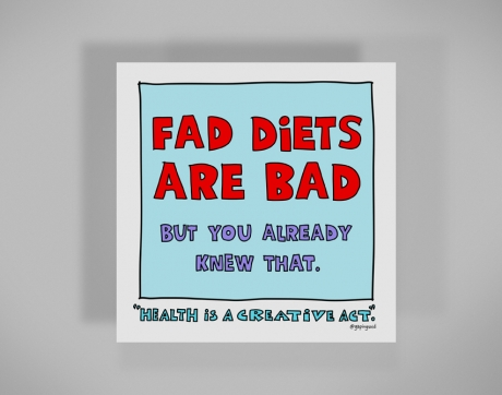 why fad dieting is bad