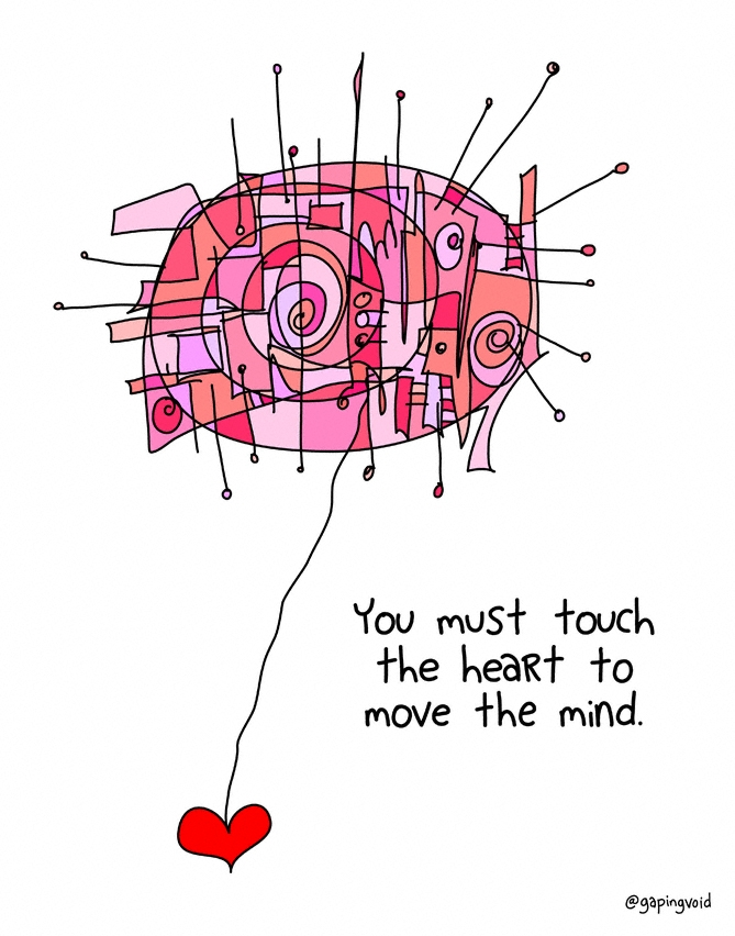 Touch The Heart - gapingvoid a...