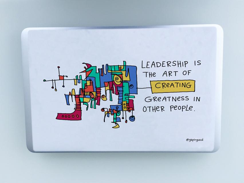 Leadership is the art decal mockup 01 jpg